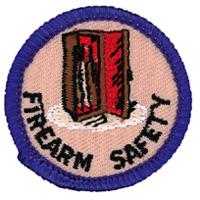 Firearm Safety Merit (Blue)