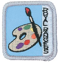 Ranger Kids Arts Achievement Patch