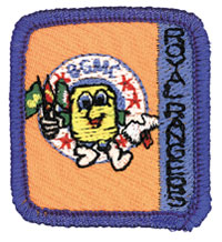Ranger Kids Buddy Barrel Achievement Patch