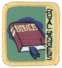 Ranger Kids Doer of the Word Achievement Patch