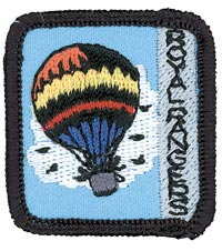 Ranger Kids In the Air Achievement Patch