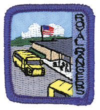 Ranger Kids School Achievement Patch