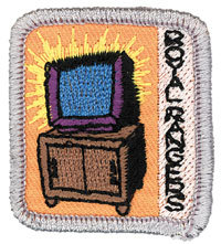 Ranger Kids What's on TV Achievement Patch