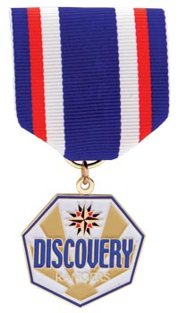 Discovery Rangers Gold Falcon Medal