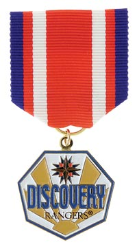 Discovery Rangers Gold Hawk Medal