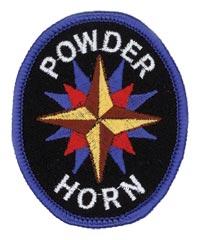 Adventure Rangers Powder Horn Patch