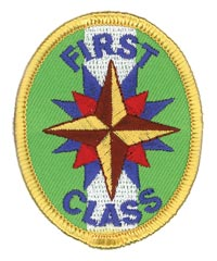 Adventure Rangers First Class Patch