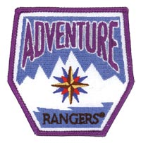 Adventure Rangers Emblem Patch