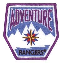 Adventure Rangers Emblem Patch