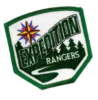Expedition Rangers Emblem Patch