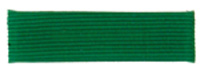 Green Merit Ribbon Bar