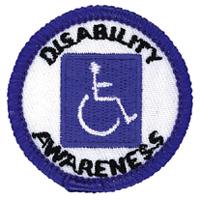 Disability Awareness Merit (Blue)