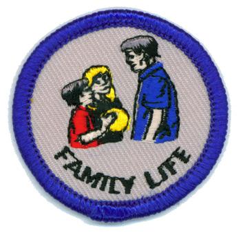 Family Life Merit (Blue)