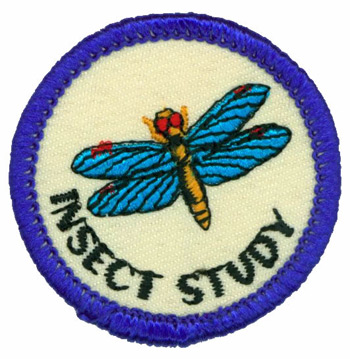 Insect Study Merit (Blue)