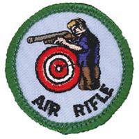 Air Rifle Merit (Green)