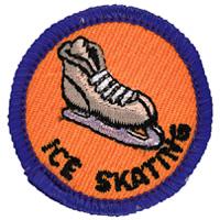 Ice Skating Merit (Blue)