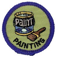 Painting Merit (Blue)