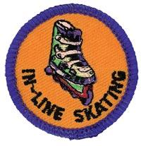 In-Line Skating Merit (Blue)