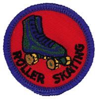 Roller Skating Merit (Blue)