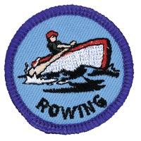 Rowing Merit (Blue)