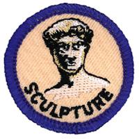 Sculpture Merit (Blue)