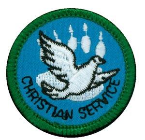 Christian Service Merit FCF (Green)