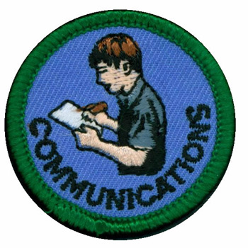 Communications Merit (Green)
