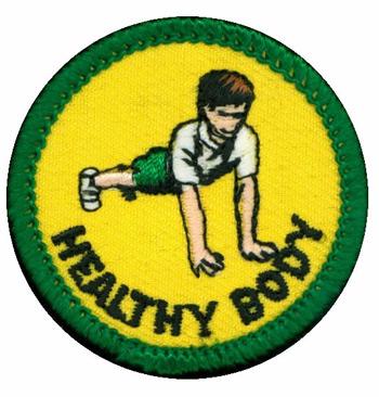 Healthy Body Merit (Green)