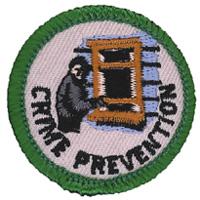 Crime Prevention Merit (Green)