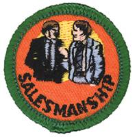 Salesmanship Merit (Green)