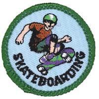 Skateboarding Merit (Green)
