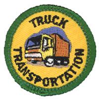 Truck Transportation Merit (Green)