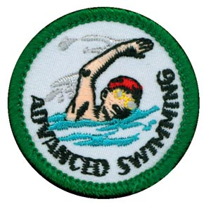 Advanced Swimming Merit (Green)