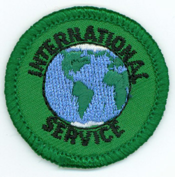 International Service Merit (Green)