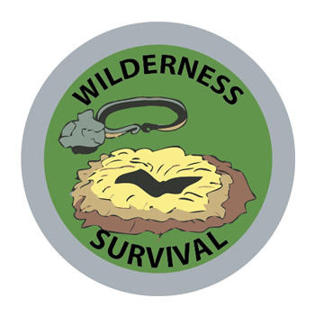 Wilderness Survival Merit FCF (Silver)