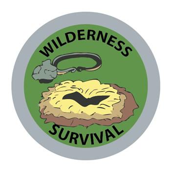Wilderness Survival Merit FCF (Silver)