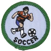 Soccer Merit (Green)