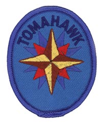Adventure Rangers Tomahawk Patch