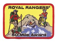50-Mile Award Patch
