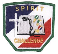 Spirit Challenge Patch, Green