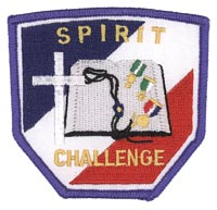 Spirit Challenge Patch, Blue