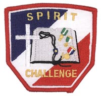 Spirit Challenge Patch, Red