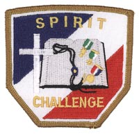 Spirit Challenge Patch, Bronze