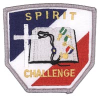 Spirit Challenge Patch, Silver