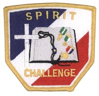 Spirit Challenge Patch, Gold