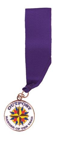 Outpost Ranger of the Year Medallion
