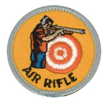 Air Rifle Merit (Silver)