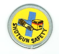 Shotgun Safety Merit (Silver)