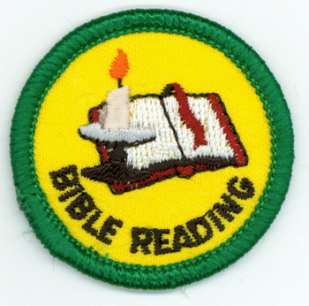 Bible Reading Merit (Green)
