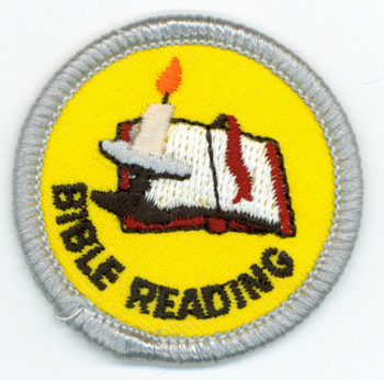 Bible Reading Merit (Silver)